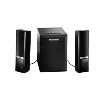 Altavoces Hercules 2.1 Gloss BT 10W RMS Negro