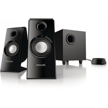 Altavoces Philips SPA4355/12 2.1 Multimedia 30 W