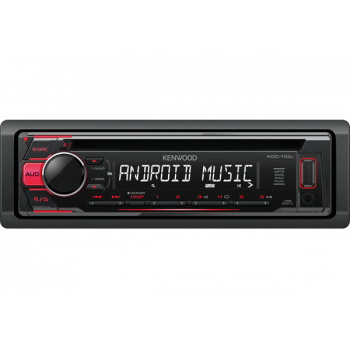 Receptor CD, USB, AUX, Android, iPhone
