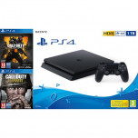 Consola Playstation 4 PS4 1TB + Call of Duty Black Ops 4 + Call of Duty WWII