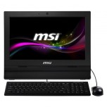 "ORDENADOR MSI AIO 16"" TACTIL C1037U/4G/500GB BLACK"