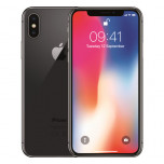 Apple iPhone X, 64Gb, gris, plata