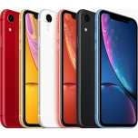 Apple iPhone XR, 64GB, amarillo, azul, blanco, coral, negro, rojo