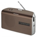 Radio AM/FM Pilas/Red Marron Grundig