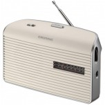 Radio AM/FM Pilas/Red Blanco Grundig