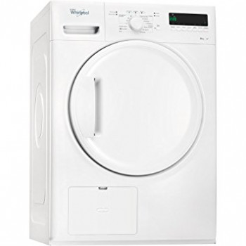 Secadora Whirlpool Freestanding 8kg Front-load White MOD:HDLX 80312