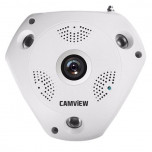 CAMARA IP PANORÁMICA 360º 2MP | WIFI | SD | ONVIF | CAMVIEW